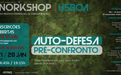 Auto defesa / Workshop Pré-confronto LISBOA