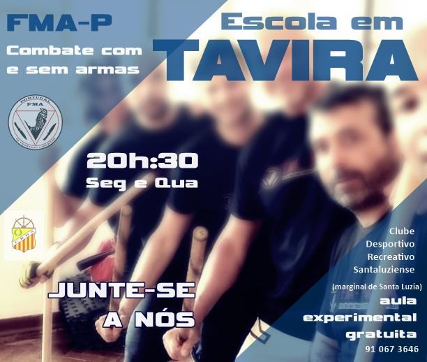 TAVIRA – inscrições abertas na escola FMA-P