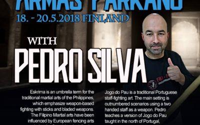 Campo de treino na Finlândia – ARMAS Parkano 2018