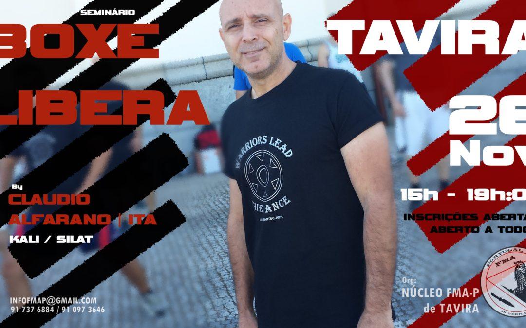 Seminário Boxe Libera – Tavira