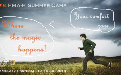 Balanço do Summer Camp 2018